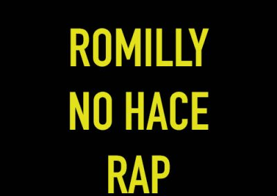 Romilly no hace rap